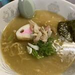 ラーメン茶湖 - 料理写真:ホッキラーメン❕