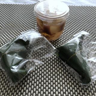 和菓子 葡萄家 - 料理写真:◆3個買いました。麩まんじゅう(194円×2)、柚子しずく(378円)、合計:766円。