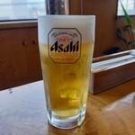 柿崎商店 海鮮工房 - スーパードライ 340円