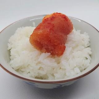 山口油屋福太郎 - 料理写真:おもいっきりめんたい①(白米のお供に)