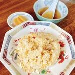 157130035 - 半チャーハン スープ付 270円