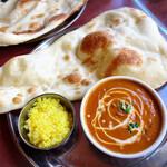 ダルパン - 料理写真:ランチ Aセット(チキンカレー)