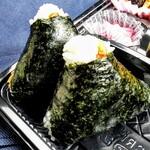 オコメカフェ 森のたんぼ - 料理写真:おにぎり (ねぎ味噌、明太子)