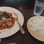 ふらんす食堂 CHEZ Nakajima - 料理写真:日替わりランチご飯大盛り