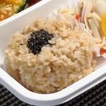 玄米カフェ 実身美  - 玄米ごはん