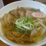 麺哲支店 麺野郎 - もう一枚、肉醤油ワンタン
