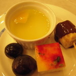 軽井沢倶楽部 ホテル軽井沢1130 - デザートもしっかり・・チョコバナナも作りました(^_^)