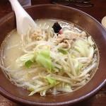 らーめん 岩本屋 - 鶏塩タンメン780円