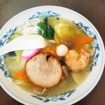パリスタ飯店 - 料理写真:「塩五目麺」780円