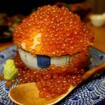 157161145 - ワッショイ!!バカ盛りイクラこぼれ丼~北海道産大粒いくら~(レギュラーサイズ)