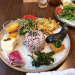 Nouminkafe - 農民満腹ランチセット 1580円(税込)