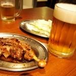 一鶴 - おやどり & 生ビール(大)