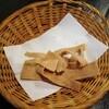 百々亭 - 料理写真:そば煎餅