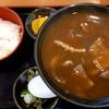 千歳 八天庵 - 料理写真:カレー蕎麦