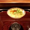 ななにん - 料理写真:枝豆のムース、馬糞雲丹