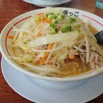 ラーメンねぎっこ - 料理写真:野菜ラーメン(カレー味)730円