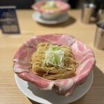 ラーメン大戦争 - 料理写真:冷製 錆びた刀+麺大盛無料