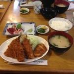 弥次喜多 - 魚河岸定食  950円