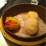 中国菜館 桃の花 - 飲茶盛り合わせ