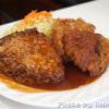 ハンバーグ&洋食 ベア - 料理写真:ハンバーグ