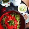 いずみ - 料理写真:トマトそば(¥935)。 季節限定なので気になる方はお急ぎで!