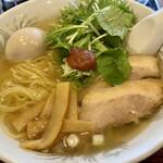 中華そば正田食堂 - 料理写真:えび塩味玉そば@890円
