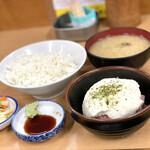 多け乃 - マグロ山かけ定食