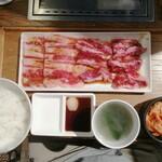 焼肉ライク - Wカルビセット 200g  1140円