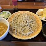 彩め庵 - 料理写真:坦々蕎麦 850円