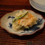 新橋辻そば - ポテトサラダ