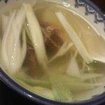 牛たん炭焼き 利久 - テールスープ