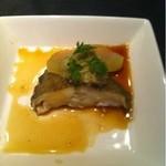 中国菜館 桃の花 - 冬瓜と黄金カレイの蒸し物