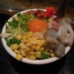 お多福 - お好み焼き(ミックス)①