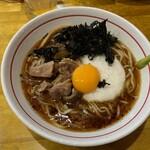 麺屋 ぬまた - 料理写真:牛肉とろろ海苔冷やしラーメン980円