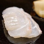 日本橋蛎殻町 すぎた - 青森県産の平目