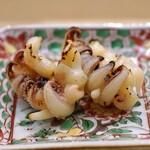 日本橋蛎殻町 すぎた - 新烏賊のゲソの粕漬け