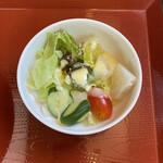 田園茶屋 いとわ - おいしいサラダ