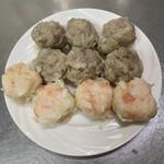 シウマイのタチバナ - 大粒熟成シウマイ 海老シウマイ