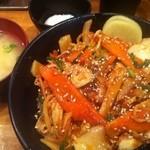 伝説のすた丼屋 - 豚キムチ丼 ¥700