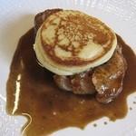 15721796 - 主菜:洞爺湖豚のロディとジャガイモのクレープ