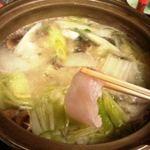 料理・仕出し 前川 - クエ鍋