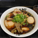 157211089 - 中華そば 肉増し 味玉トッピング 1,000円