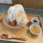 甘味や 澤田商店 - 冷やしみたらし+きな粉