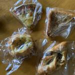 パン工房&喫茶 じゅてーる - 購入したパン