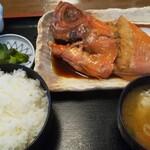 食事処 池田 - 金目鯛煮付け定食