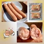 トンデンファーム - 【荒挽ウインナー】ボイルした後、軽く焼いて食べるのが好きです(^^)
