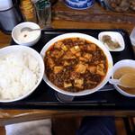 Chiiran - 四川麻婆豆腐 Aセット(1,000円)+ご飯大盛り(無料)