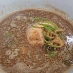 三谷製麺所 - 魚つけ麺:中太麺α並♪