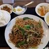 豫園飯店 - 料理写真:上海焼そば&ライス
