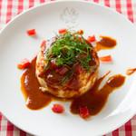欧味食卓サラマンジェ・ガラ - ズワイ蟹のスフレ